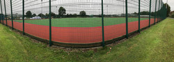 Panoramic of our new pitch