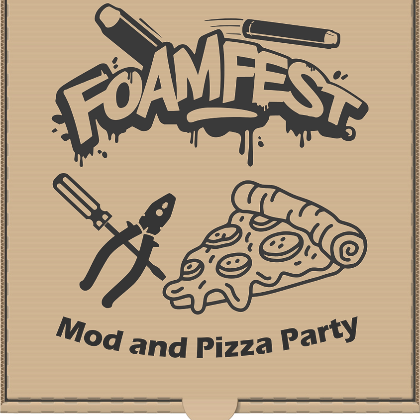 Foam Fest Mod and Pizza Party