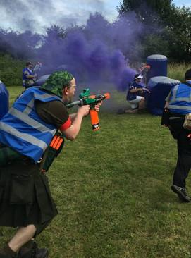 Battle of BritNerf