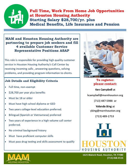 Houston Housing Authority Work from Home Customer Service Positions Flyer.jpg
