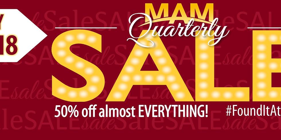 Quarterly Sale!