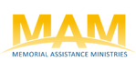 Traditional MAM Logo - gold & blue small