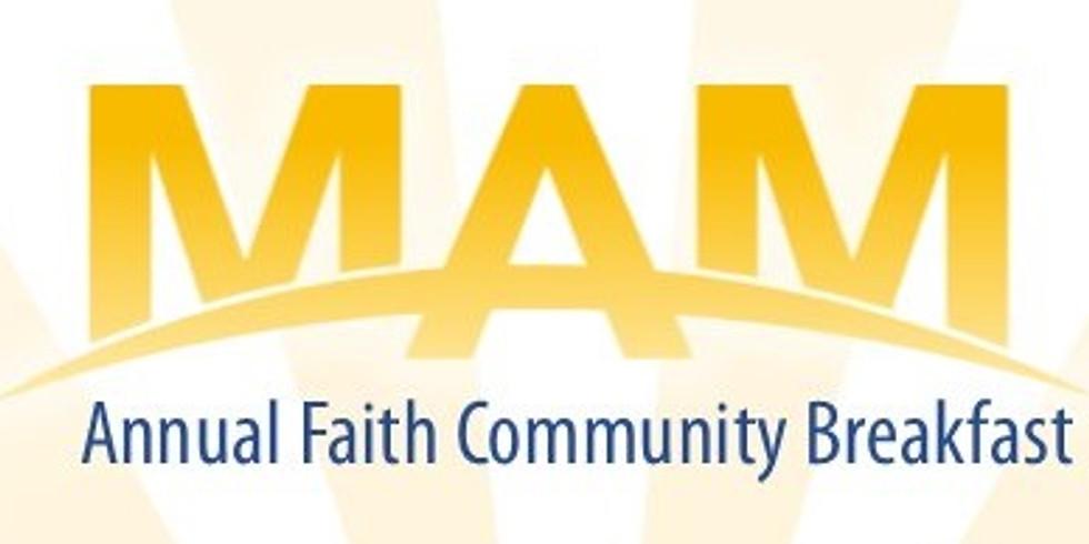MAM Faith Community Breakfast