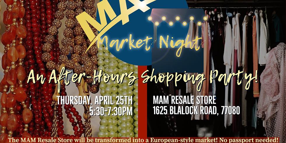 MAM Market Night!