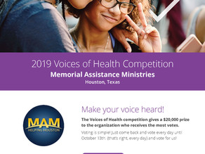 Press Release: MAM Selected as Aetna Voices of Health Competition Finalist