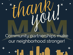 Community partnerships make our neighborhood stronger!
