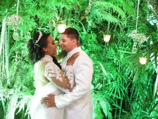 """Casamento de Gabriela e Rafael dia 16/12/2018."""