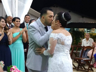 Casamento de Kênia & William dia 25/11/2017