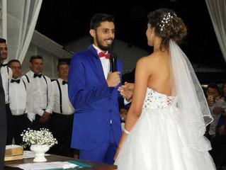 Casamento Janubia e Alisson dia 21/04/2018