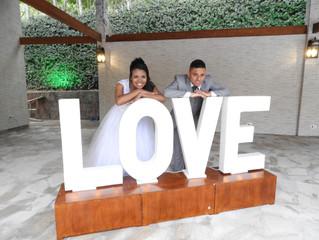 Casamento de Jessica e Silas dia 28/09/2019.