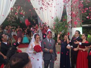 Casamento de Gisele & Dayvid dia 10/02/2018