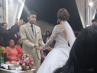 Casamento de Nathalia e Anderson dia 29/07/2017