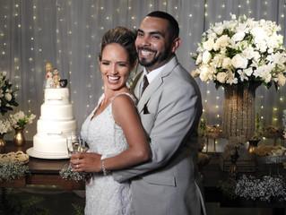 Casamento de Viviane e Everton dia 26/10/2019.