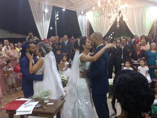 Casamento Janaina & Evaristo + Sandy & Dinei - Dia 07/10/2017