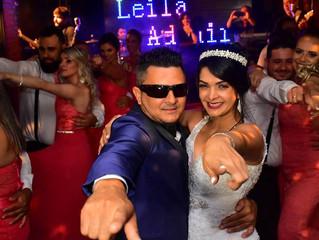 Casamento de Leila e Ademir dia 09/12/2017 à Noite
