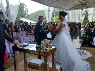 Casamento de Michele & Roberio dia 11/11/2017