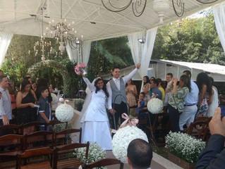 Casamento de Sta. Suelen e Sr. Caio dia 14/10/2017
