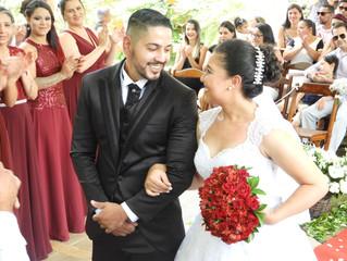 Casamento de Jaqueline e Paulo dia 11/11/2018.