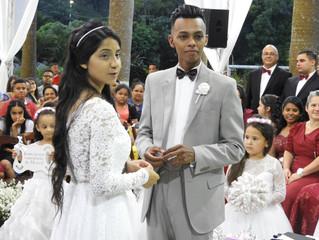 """""""Casamento de Thiago e Ieda 15/12/2018 à noite."""""""
