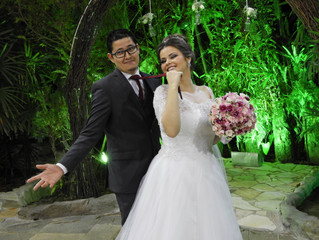 """""""Casamento de Joyce & Thiago 19/10/2019.""""— emRecanto Beija-Flor"""