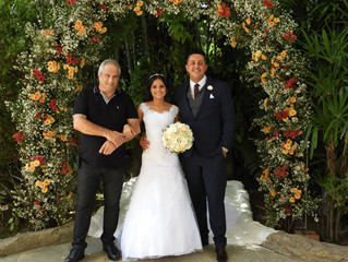 Casamento de Viviane & Rodrigo dia 14/04/2018
