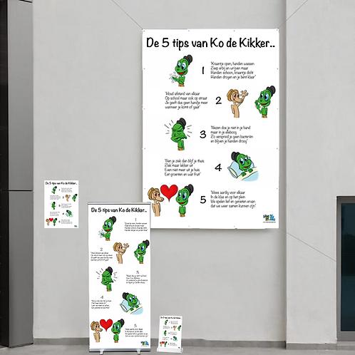 5 Tips van Ko de Kikker - Premium pakket
