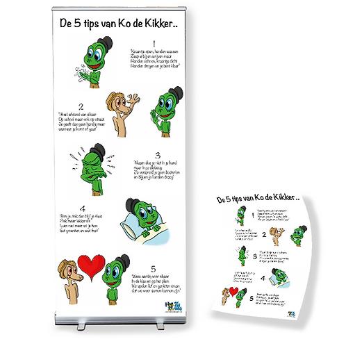 5 Tips van Ko de kikker - Instap pakket