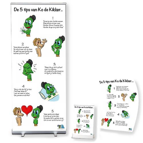 5 Tips van Ko de Kikker - Plus pakket