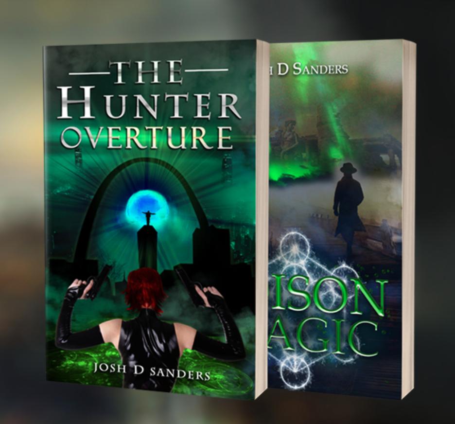 Hunter Overture and Poison Magic books