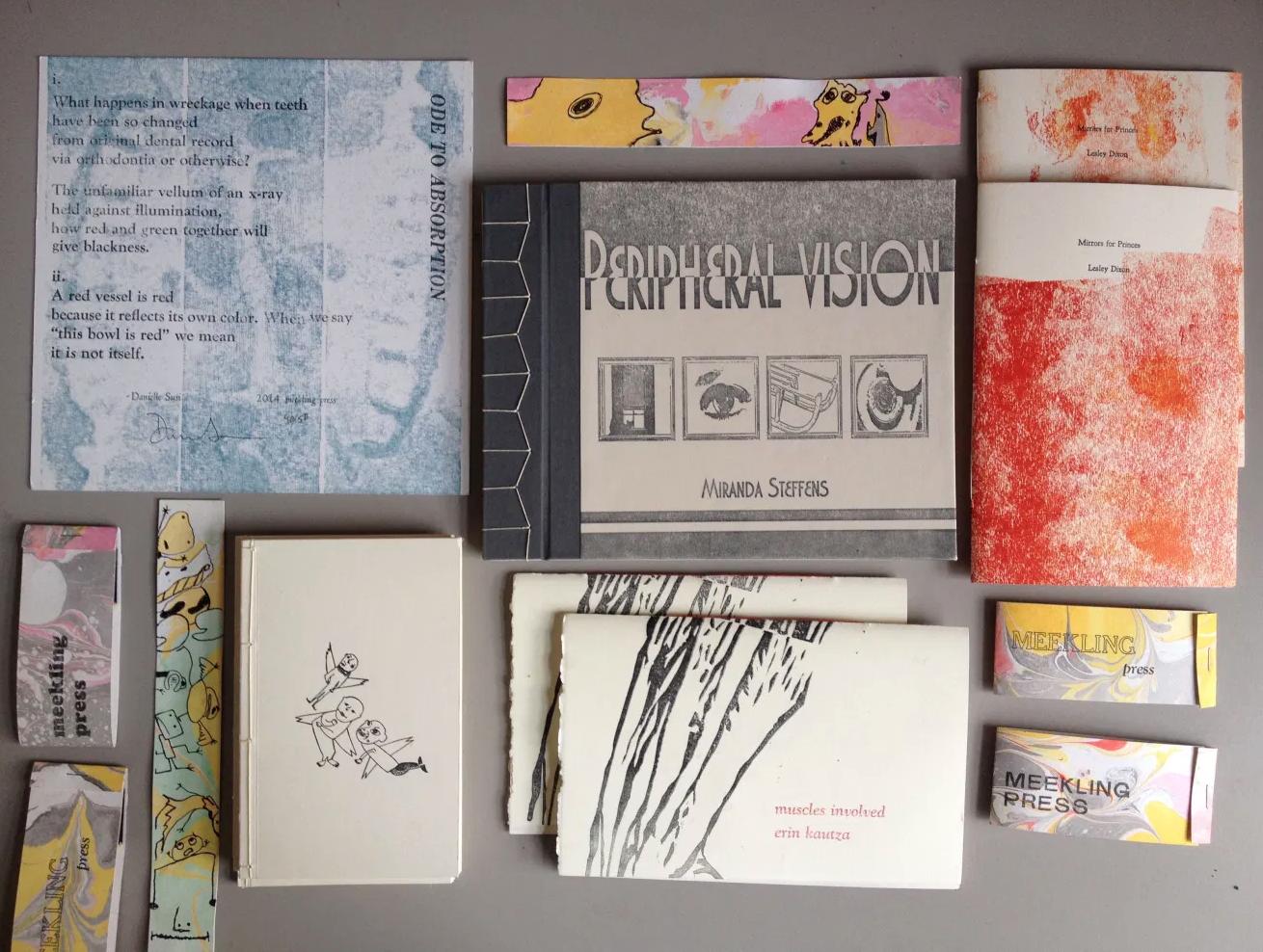 Meekling Press covers