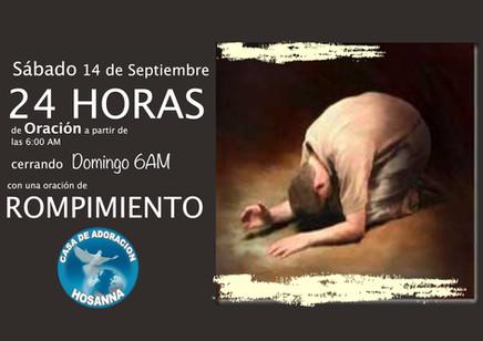 24 horas de Oracion Pastor Ruben Montene