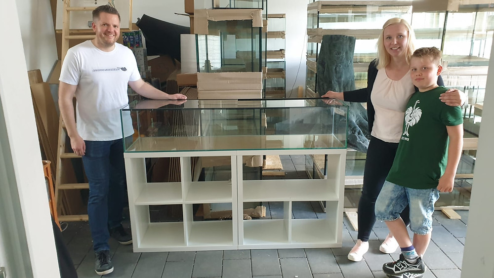 IKEA Kallax Aquarium von DiskusMummy und amazonasbecken