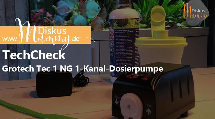 TechCheck: Grotech E1-Kanal-Dosierpumpe Tec 1 NG im Test