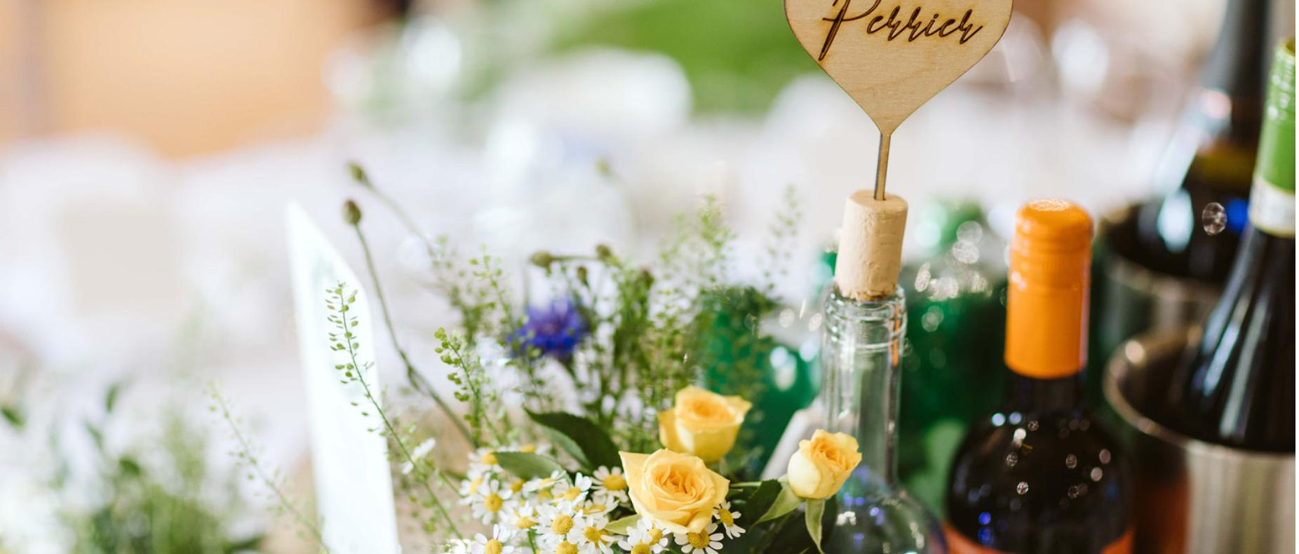 Freshwater Wedding Table Names