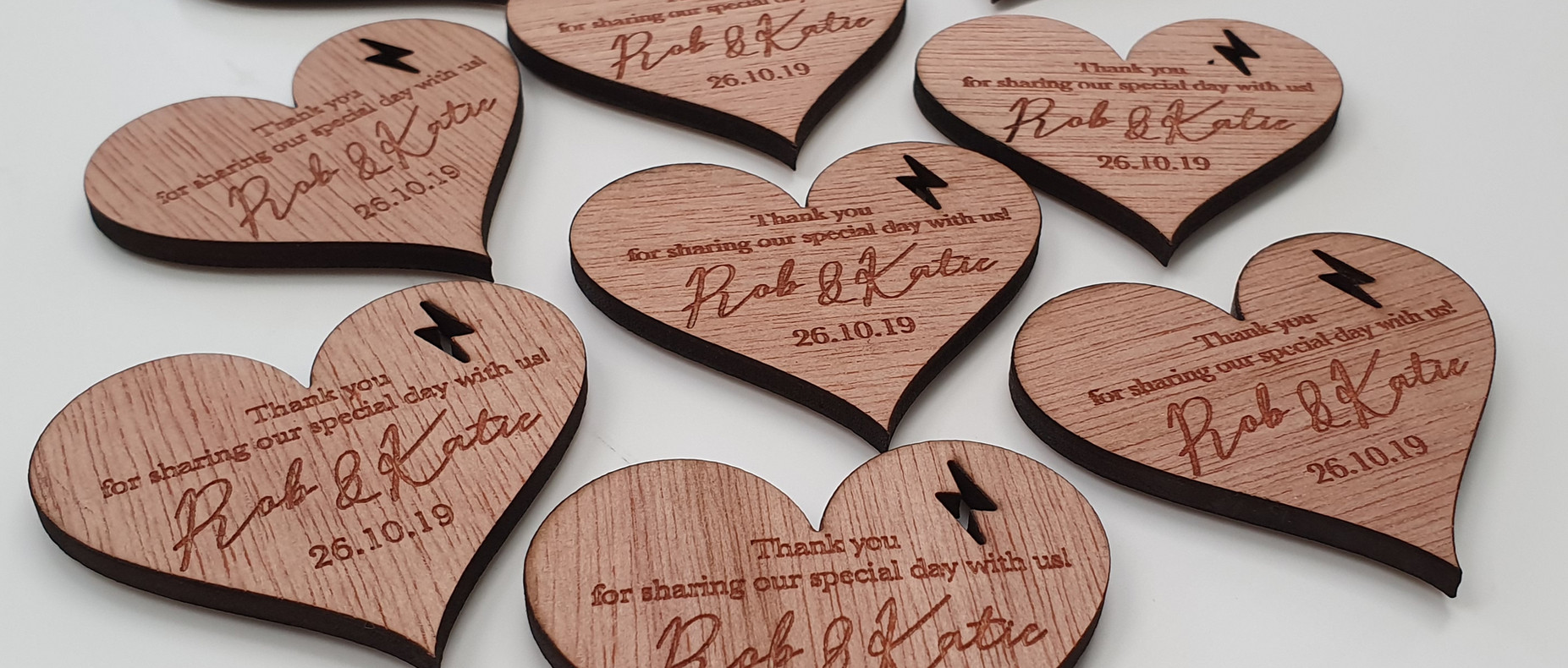 Wooden Magnet Favours