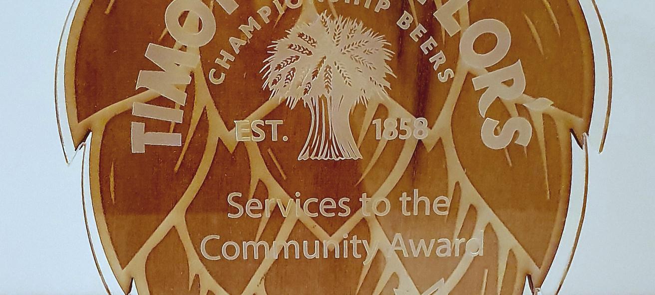 Timothy Taylor Award