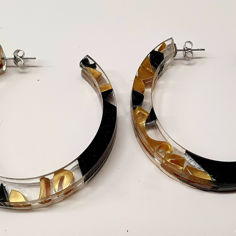 September Recycled Acrylic Jewellery Workshop