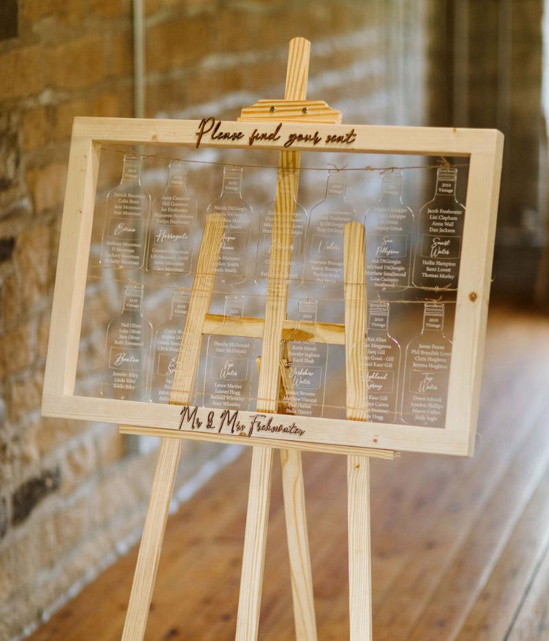 Freshwater Wedding Table Plan