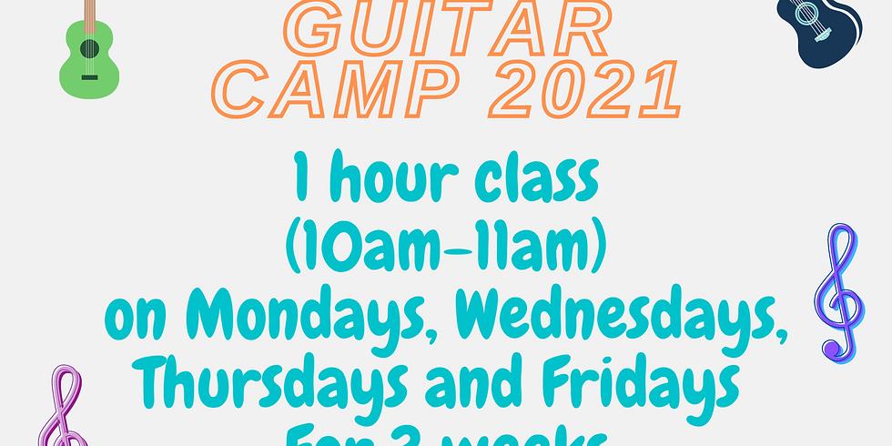 Guitar Camp 2021