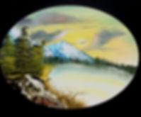 Original landscape oil painting art for sale by artist Jim Wardynski