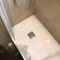 Canvi plat de dutxa
