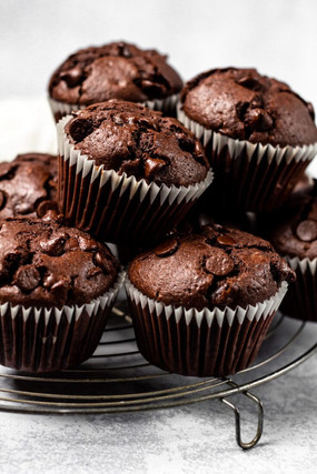 nutella-stuffed-double-chocolate-muffins