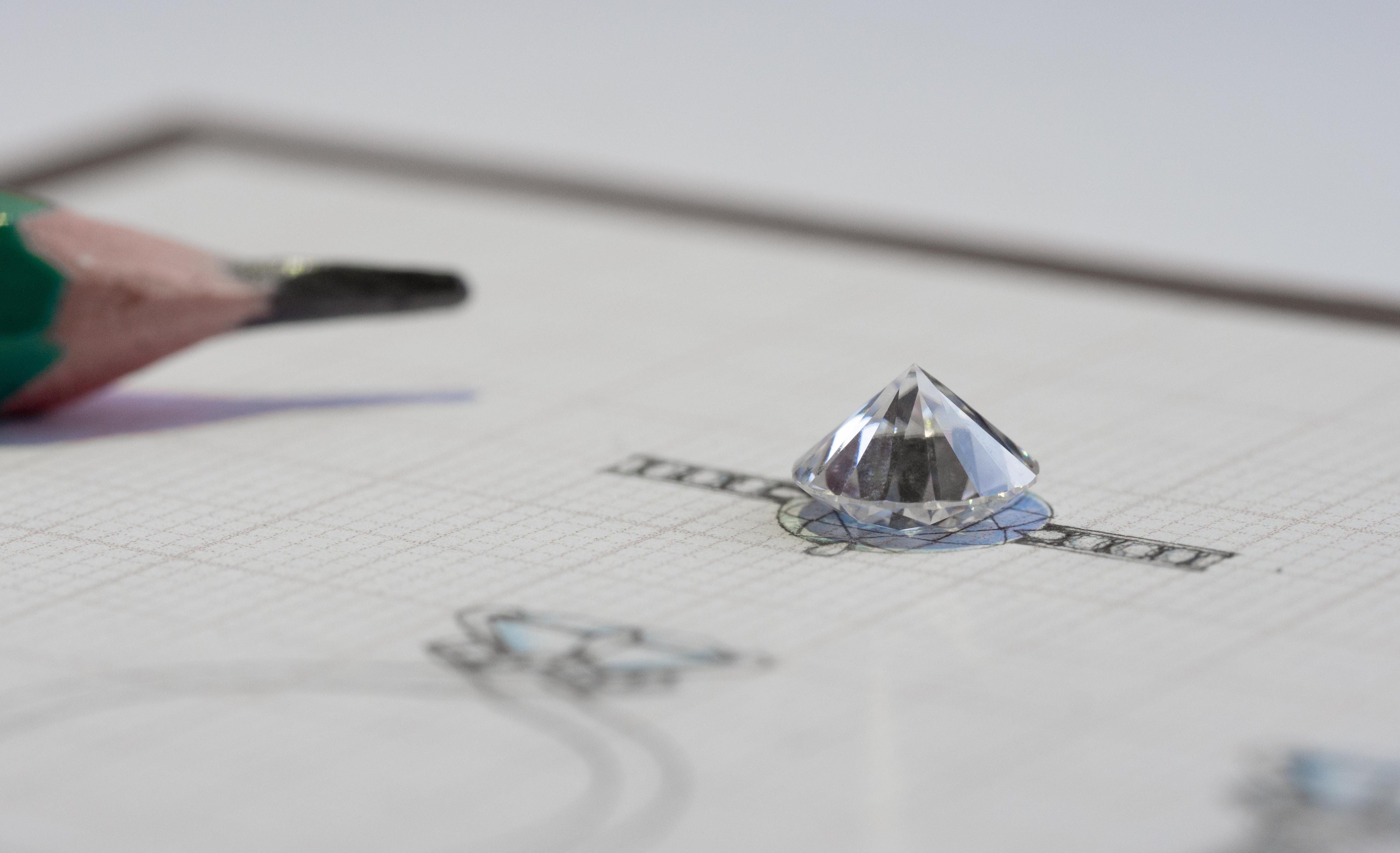 Diamond jewelry design