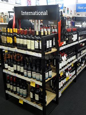 Wine and Spirit Mid Floor Racking
