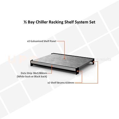 Chiller Racking Shelf Set - 650mm