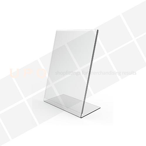 Acrylic Ticket Holder - Angled
