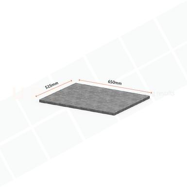 Galvanised Shelf Panel 650mm