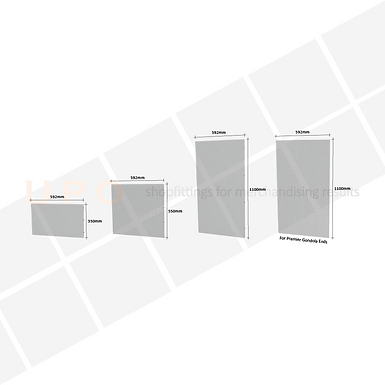 Clip-in Peg Metal Panels