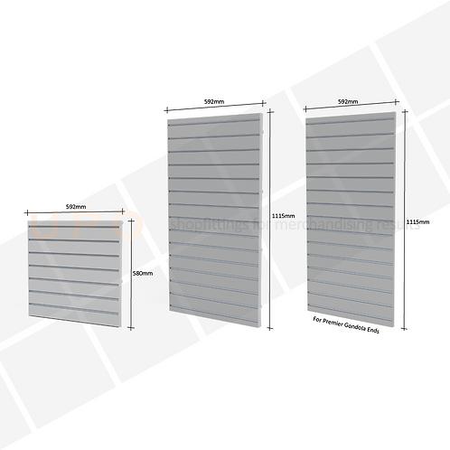Clip-in Slatwall Panels