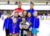 Чемпионы мира по фигурному катанию со своими воспитанниками